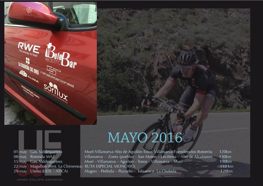 Salidas Mayo 16
